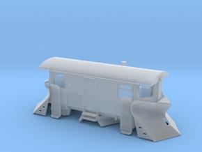 Schmalspur Schneepflug Nm/Ne in Smooth Fine Detail Plastic