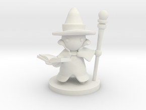 Wizard in White Natural Versatile Plastic