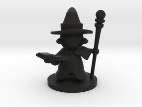 Wizard in Black Premium Versatile Plastic