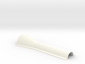 Center Hump 1/12 V1 in White Processed Versatile Plastic
