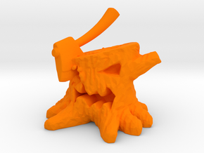 Stump Chump in Orange Strong & Flexible Polished: Medium