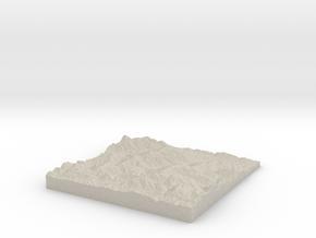 Model of Luzaide in Natural Sandstone