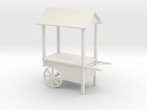 Sweets Cart Candy Bar in White Natural Versatile Plastic