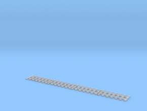 Ne flexible track for code 55 profiles in Smooth Fine Detail Plastic