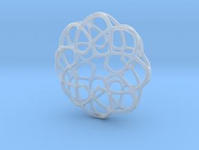 Dk Pendant in Smooth Fine Detail Plastic