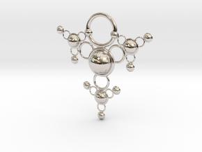 TsSys Pendant in Platinum