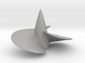 Single left hand ship propeller f. Bismarck/Tirpi in Raw Aluminum