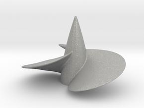 Single right hand ship propeller f. Bismarck/Tirpi in Raw Aluminum