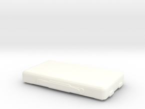Chem Box lid in White Processed Versatile Plastic