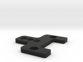 MC3 KMD-FR01 Dual Shock Holder in Black Natural Versatile Plastic