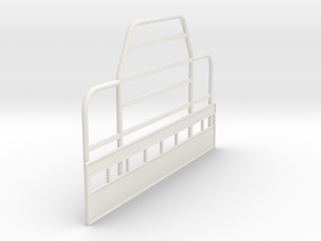 Rubber_Duck-Bullbar-1to16 in White Natural Versatile Plastic