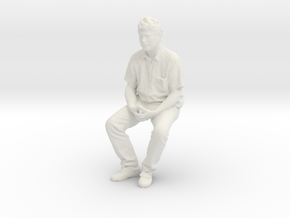 Printle C Homme 1111 - 1/24 - wob in White Natural Versatile Plastic
