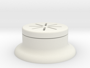 Push Button Guard in White Natural Versatile Plastic