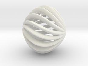Brilliants A in White Natural Versatile Plastic: Small