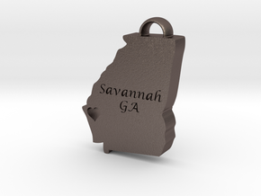 Home is Where the Heart Is: Savannah, Georgia in Polished Bronze