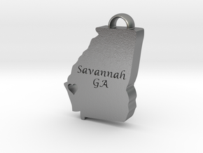 Home is Where the Heart Is: Savannah, Georgia in Natural Silver