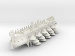 Tireme Airship Talos in White Natural Versatile Plastic: 1:700