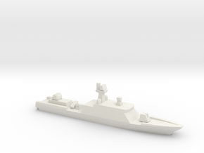 Gumdoksuri-class patrol vessel (late ver.), 1/2400 in White Natural Versatile Plastic