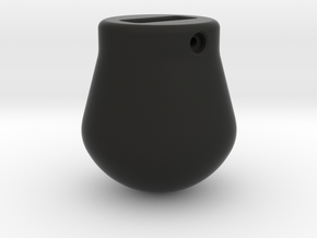 1-50 - 2500KG Wrecking ball Peer Shape in Black Natural Versatile Plastic