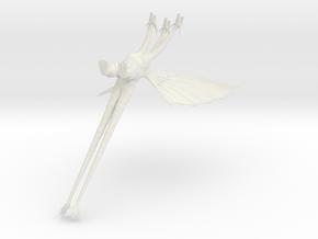1/350 King Ghidorah (Diorama Custom) in White Natural Versatile Plastic
