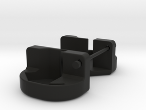 Axial Wraith LED extrusion holder in Black Natural Versatile Plastic