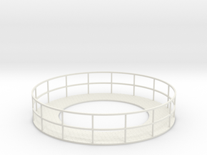 Walkway 3 - HOscale in White Natural Versatile Plastic