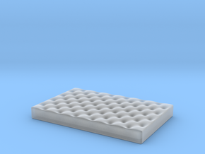 Small Dog Bed various scales in Smooth Fine Detail Plastic: 1:12