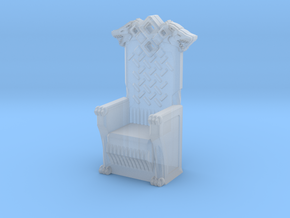 Printle Thing Throne 02 - 1/72 in Smooth Fine Detail Plastic