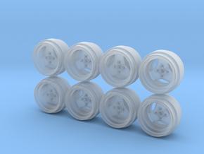 Weds MK1 Hot Wheels Rims in Smoothest Fine Detail Plastic