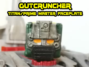 Gutcruncher Face (Titans Return) in Smooth Fine Detail Plastic