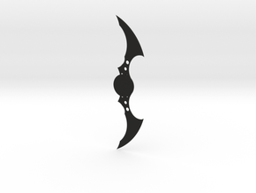 Batarang in Black Natural Versatile Plastic