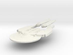 NewYork Class Refit  HvyGunCruiser in White Natural Versatile Plastic