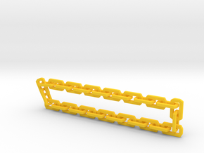 Nitro Zeus Chain, Basic in Yellow Processed Versatile Plastic