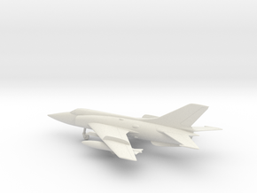 Nanchang Q-5 Fantan in White Natural Versatile Plastic: 1:64 - S
