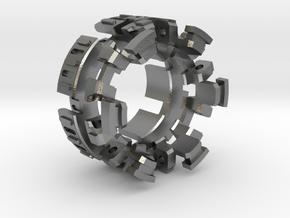 HILT GX16 Connector Holder MHS-V2 METAL in Natural Silver