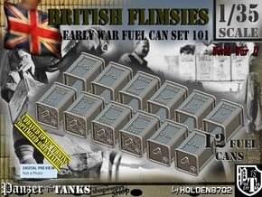 1/35 British Flimsies Can Set101 in Smooth Fine Detail Plastic