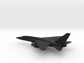 North American RA-5C Vigilante in Black Natural Versatile Plastic: 6mm