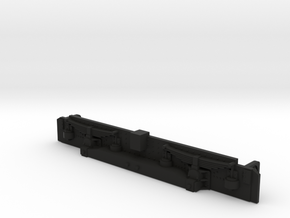 22229 Sideframe for EMU in Black Natural Versatile Plastic