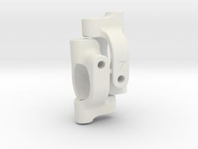 4XS C-Hub 7 deg PAIR in White Natural Versatile Plastic