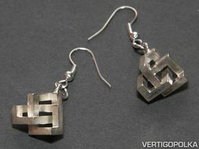 CTK Earrings silver in Natural Silver