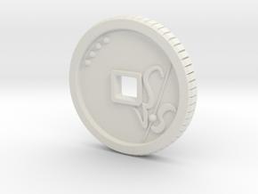 Kion in White Natural Versatile Plastic