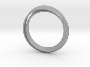 Möbius bracelet in Aluminum: Extra Small