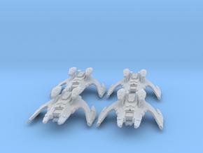 Jem'Hadar Battlecruiser Group 1:7000 in Smooth Fine Detail Plastic