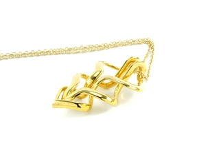 Oma Pendant in 18K Gold Plated