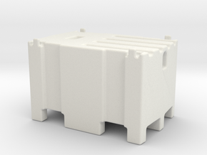 Mobile fuel tank 450l 1/32 in White Natural Versatile Plastic