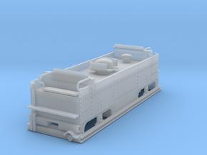 Feldbahn brigadelok tender in Smooth Fine Detail Plastic: 1:45