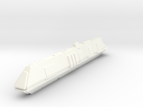 scifi submarine deep shadow 19cm in White Processed Versatile Plastic