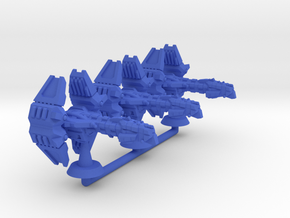 Sogzu Class Assault Cruiser - 1:20000 in Blue Processed Versatile Plastic