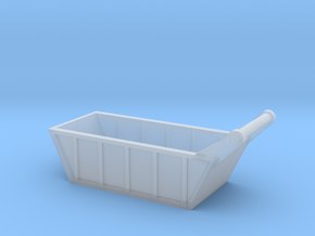 1:87 scale Bedding Box in Smooth Fine Detail Plastic