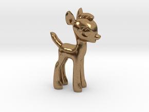 "My Little OC: Faun 1.5"" in Natural Brass"